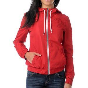 Zine Windbreaker jacket